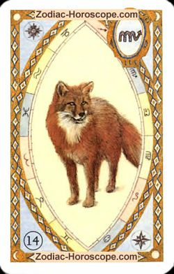 The fox, monthly Love and Health horoscope September Gemini