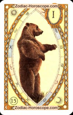 The bear, monthly Love and Health horoscope March Gemini