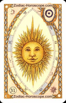 The sun, monthly Love and Health horoscope December Gemini