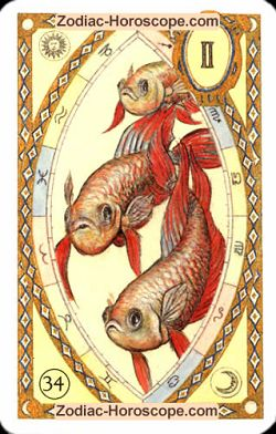 The fish, monthly Love and Health horoscope August Gemini
