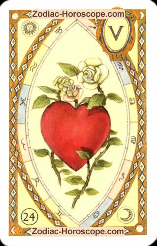 The heart Partnership love horoscope