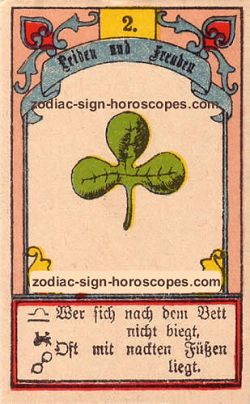 The clover, monthly Gemini horoscope January
