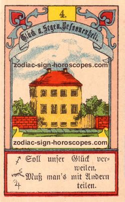 The house, monthly Gemini horoscope April