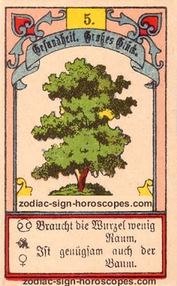 The tree, monthly Gemini horoscope April