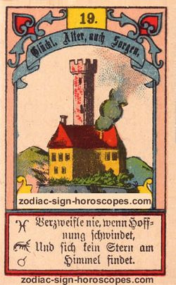 The tower, monthly Gemini horoscope April