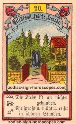 The garden, monthly Gemini horoscope January