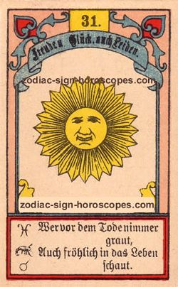 The sun, monthly Gemini horoscope April